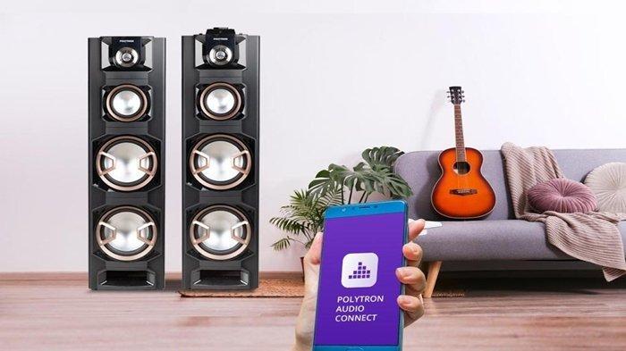 Makin Nyaman di Rumah, Polytron Kini Keluarkan Seri Speaker Terbaru, Suaranya Makin Powerful