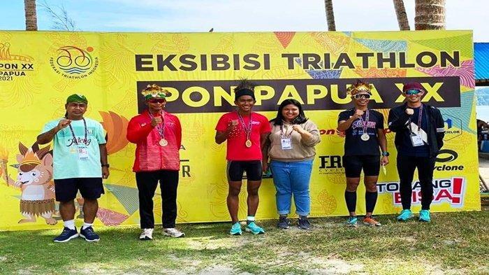 Hasil PON PAPUA : Triathlon Sumsel Raih 2 Perak dan 1 Perunggu