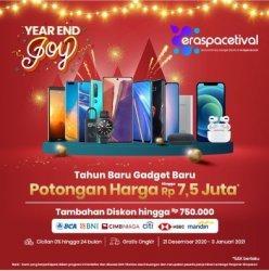 Promo Natal dan Tahun Baru Erafone, Diskon Handphone hingga Rp.7,5 Juta dan Cicilan 0%