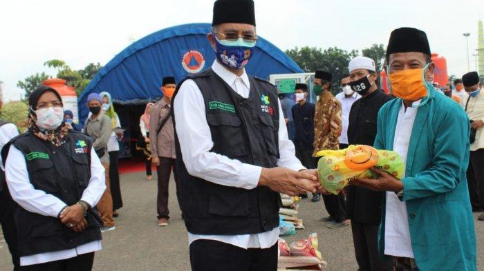 Pemkab Musirawas Salurkan Bansos Sembako dan Bahan Pangan untuk 30 Pondok Pesantren