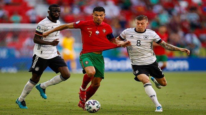 Hasil Euro 2020: Kontroversi Wasit Prancis Vs Portugal, Jerman Nyaris Tersungkur dari Euro 2021