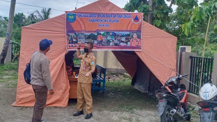 Prediksi Puncak Musim Hujan, BPBD OKU Selatan Imbau Warga Mengungsi ke Wilayah Aman