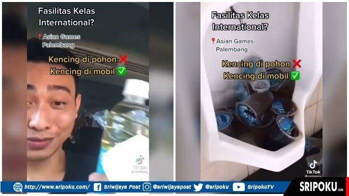 VIRAL Penampakan Toilet Bekas Asian Games di Jakabaring, Terpaksa Buang Air Kecil di Dalam Mobil