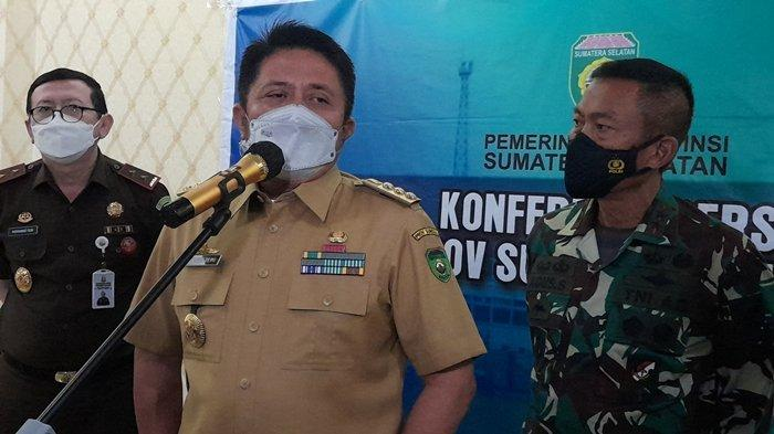 Gubernur Herman Deru Larang Mudik Lokal di Sumsel, tapi Kalo Mau Silaturahmi Keluarga Ya Silakan