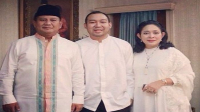Jarang Terekspose, Putra Prabowo Subianto Temani Sang Ayah Disumpah Profesinya Bukan Bidang Politik