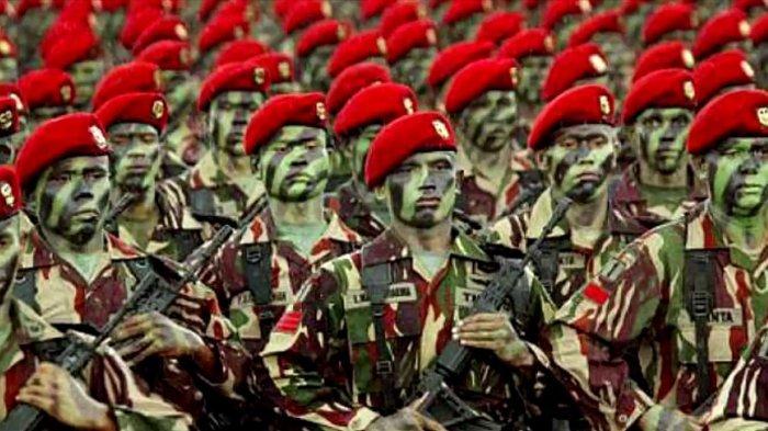 Ini Makna Warna dan Posisi Baret TNI, Jika Miring Kanan Jangan Coba-coba Mendekat! 'Tanda Mati'