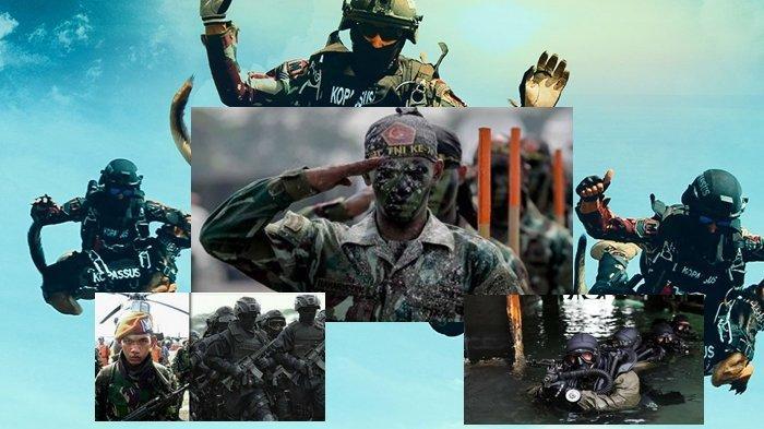 'Tentara AS Gemetar' Prajurit Berlimu Hantu dan 11 Pasukan Elite TNI Polri Ini Bisa Bekuk KKB Papua