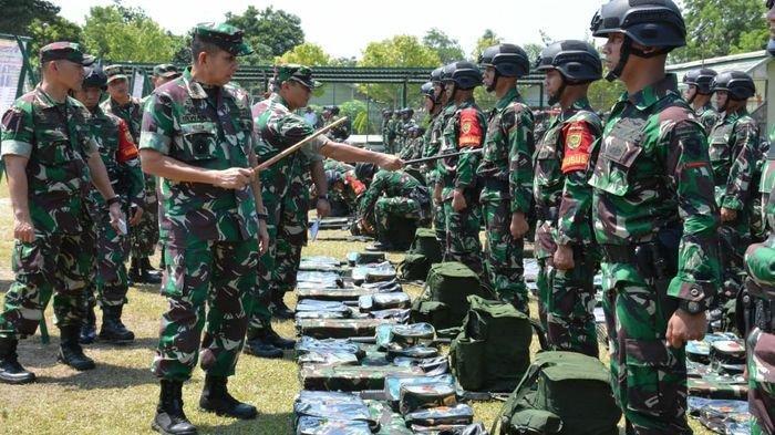 400 Prajurit Kodam II Ikut Pengamanan Perbatasan RI-Timor Leste, Begini Pesan Mayjen TNI  Irwanl