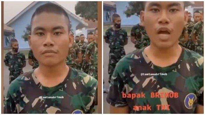 PRAJURIT Muda TNI Ini Dipanggil Pratu, Padahal Pangkatnya Lebih Rendah, Anak Anggota Brimob Polri