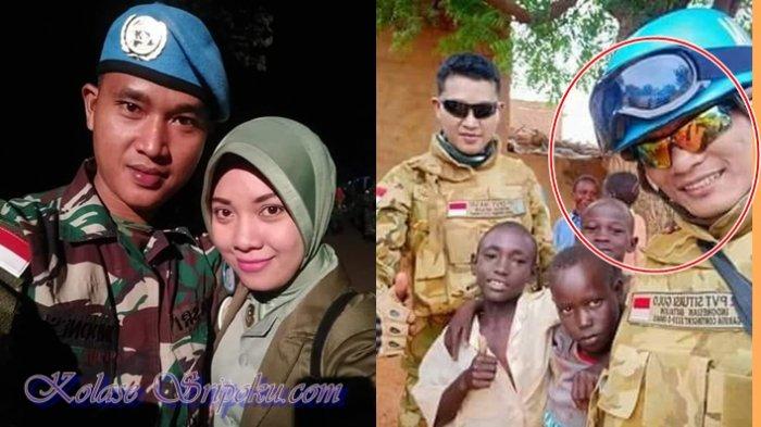 Sosok Praka Nasri Pasukan Perdamaian PBB Asal Ogan Ilir yang Gugur di Sudan, Tinggalkan Anak Istri