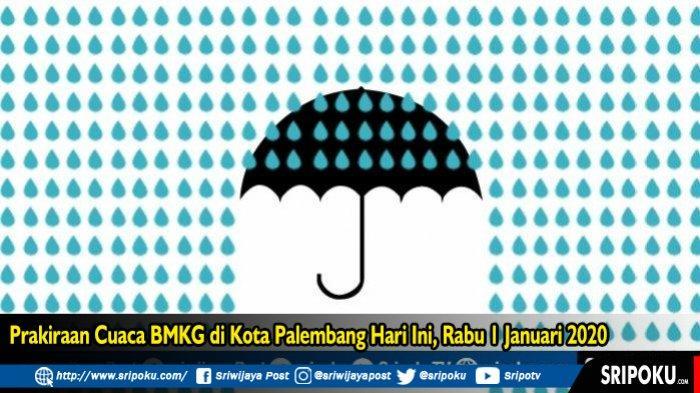 Peringatan Dini BMKG! Lima Wilayah di Sumatera Selatan Ini Berpotensi Hujan Lebat Disertai Petir