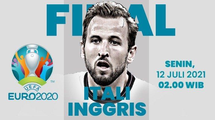 Cara Nonton Euro 2021 Link Live Streaming Italia vs Inggris di TV Online Mola TV Akses Link Disini
