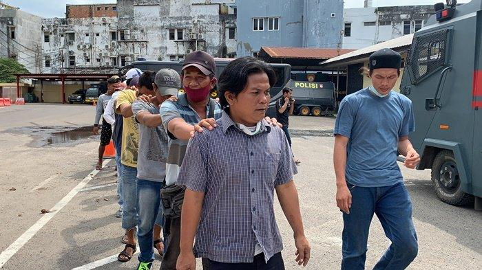 Preman di Palembang Tak Hafal Pancasila, Saat Dihukum Jatanras Polda Sumsel