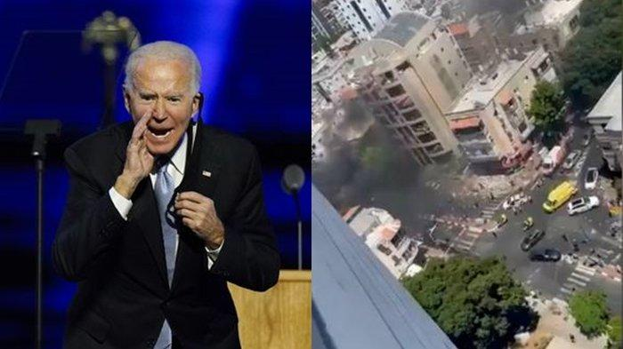 ISRAEL Mulai Takut, Bombardir Roket Hamas Bikin Joe Biden Telepon Presiden Palestina, GAZA Membara