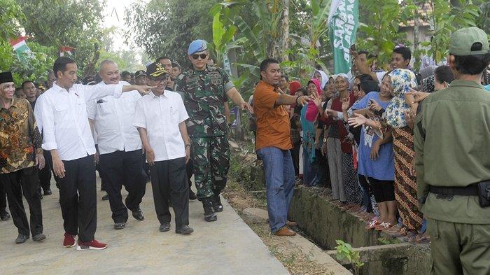 Datang ke Palembang, Presiden RI Joko Widodo Ikut Tinjau Program PKT di Banyuasin