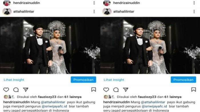 Suporter DukungAtta Halilintar Jadi Pengurus SFC, 'Asal Jangan Ganti Nama Sriwijaya Assiiap FC'