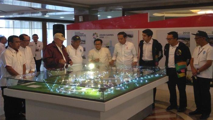 Kunjungi Kompleks Jakabaring Sport City Palembang, Presiden Joko Widodo Kenalkan Pemuda Tampan Ini