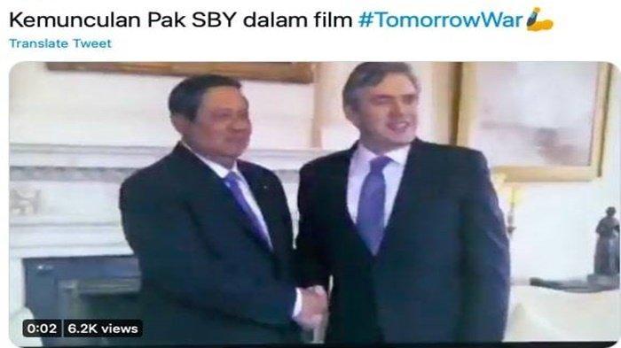 SBY Tampil Sebagai Tokoh Perdamaian di Film The Tomorrow War, Demokrat Ungkap Sosok yang Ditemui SBY