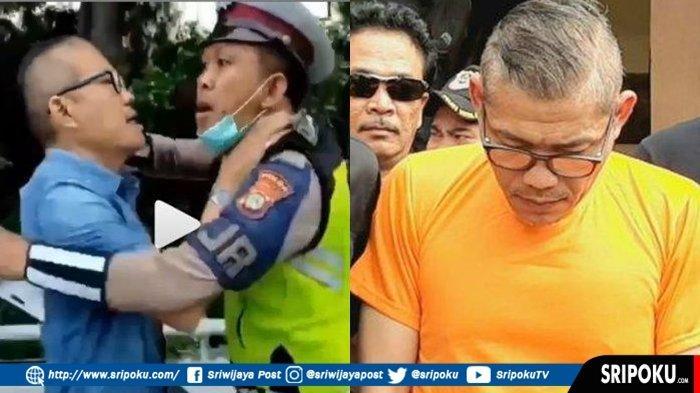 Pria yang Cekik dan Ajak Polisi Lalulintas Duel Ini Sempat ke Kedai Kopi, Begini Nasibnya Sekarang!