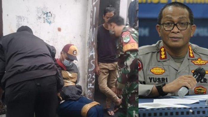 Lompat Pagar Temui Istri yang Dikurung di Kos, Polisi Diteriaki Maling Bak Pesakitan, Warga Menyesal