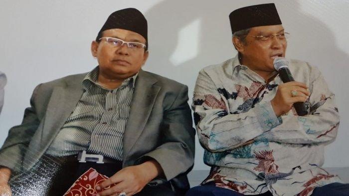 Ketum PBNU KH Said Aqil Siroj Minta Ketua PWNU Sumsel KH Amiruddin Nahrawi Jaga Sumsel Tetap Aman