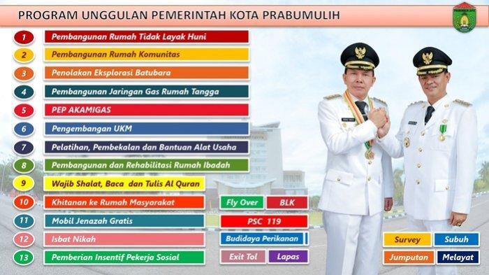 Program unggulan Pemerintah Kota Prabumulih