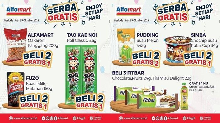 Promo Alfamart, Periode Promo Serba Gratis Hanya Sampai Besok, CEPAT BURUAN!