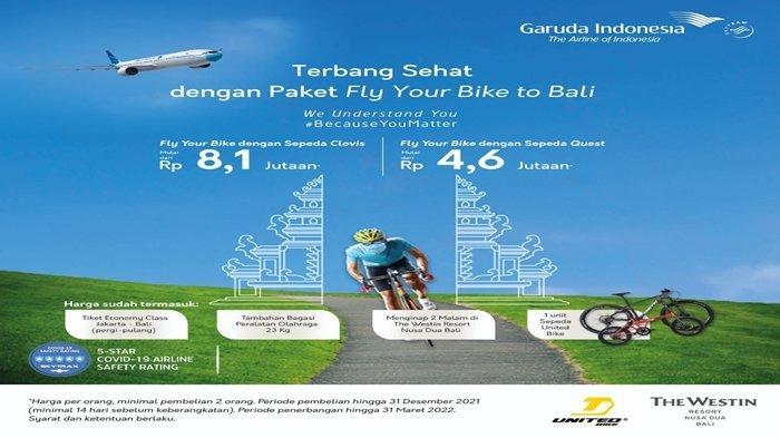 Promo Garuda Indonesia Layanan Terbang Plus Bawa Sepeda ke Bali Mulai Rp 4 Jutaan