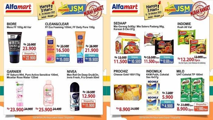 Promo JSM Alfamart Hari Ini Hingga Minggu Lusa, Belanja Makin Hemat, Pembayaran Bisa Non Tunai