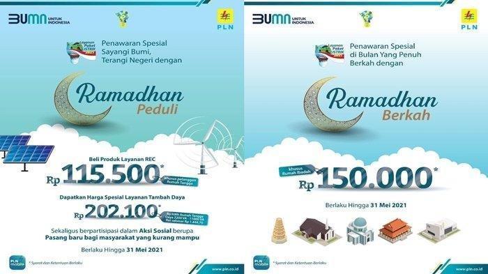 PLN kasih Promo Ramadhan Peduli Hingga Diskon Tambah Daya Berlaku Hingga 31 Mei 2021, Ini Syaratnya