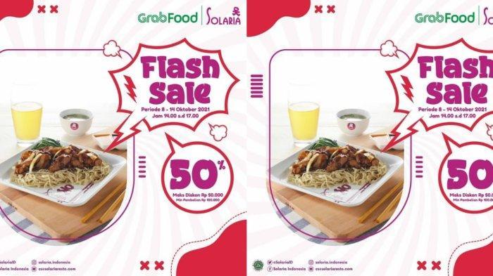 Promo Solaria Hari Ini dan Besok, Makan Sepuasnya Diskon 50 Persen, Simak Begini Caranya