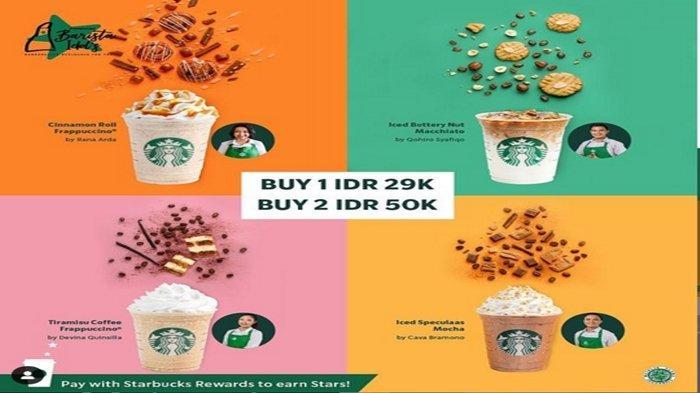 PROMO Starbucks Hari Ini, Beli Dua Kopi Cuma Rp50 Ribu, Peringati 1 Oktober Hari Kopi Internasional