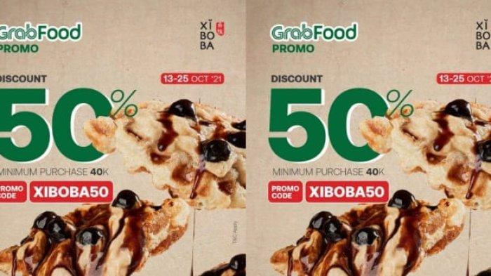 Promo Xiboba Indonesia Pesan Aneka Menu Lewat GrabFood Langsung Diskon 50 Persen