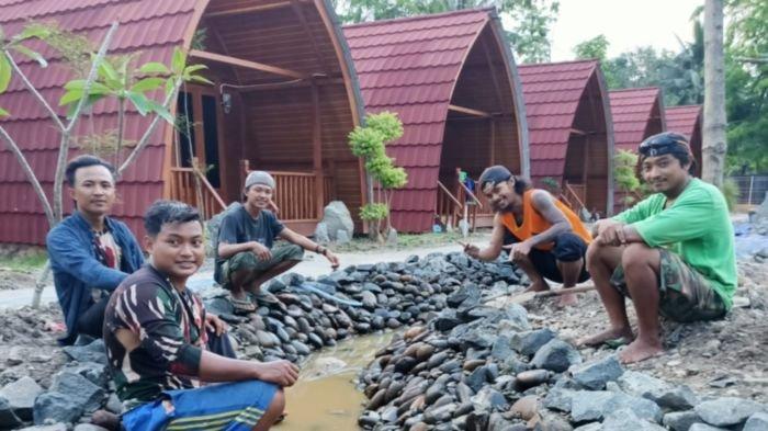 PT Bukit Asam Tbk (PTBA) membangun Sentra Industri Bukit Asam (SIBA Center) yang menelan dana Rp 750 juta di Tanjung Enim, Kecamatan Lawang Kidul, Kabupaten Muara Enim, Jumat (16/10/2020).