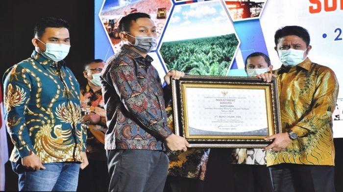 PTBA Meraih Penghargaan Di Investment Award 2020 Pemprov Sumsel Pada Kategori Inovasi Hilirisasi
