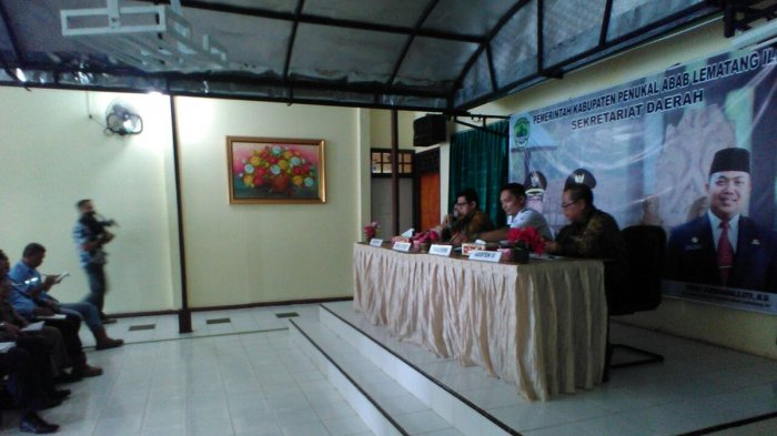 Wabup PALI Tagih Janji PT. EPI