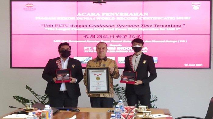 PT GH EMM Indonesia yang memiliki PLTU Mulut Tambang Simpang Belimbing 2 x 150 MW berhasil meraih rekor dunia dari Museum Rekor Dunia Indonesia (MURI)
