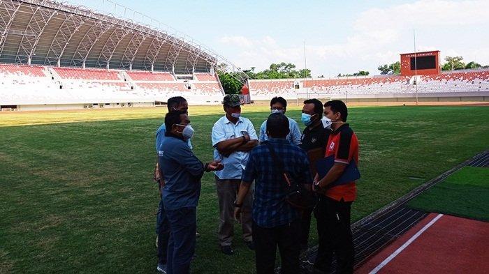 Inspeksi Stadion GSJ Palembang Calon Tuan Rumah Liga 2 2021, PT LIB Isyaratkan Lampu Hijau