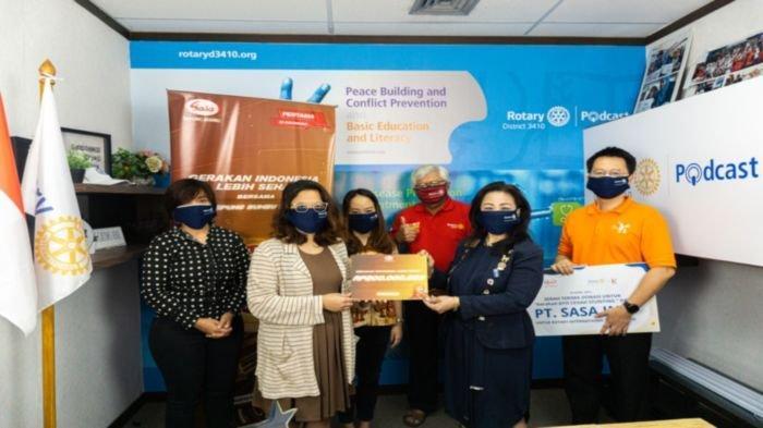 Sasa Mendukung Gerakan Ayo Cegah Stunting Rotary Indonesia
