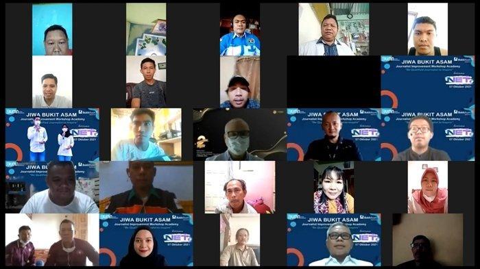 Bersinergi Dengan Jurnalis, PT Bukit Asam Gelar Virtual Workshop