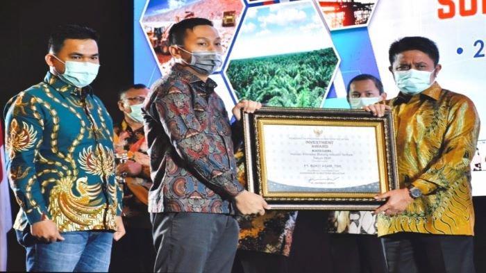 PT Bukit Asam Tbk (PTBA) Juara Investment Award 2020 Pemprov Sumsel