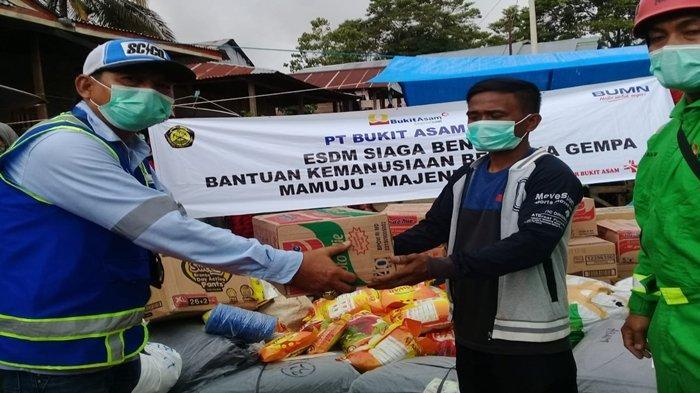 PTBA Kirim Tim Rescuer dan Bantuan untuk Korban Bencana Alam di Sulbar dan Kalsel
