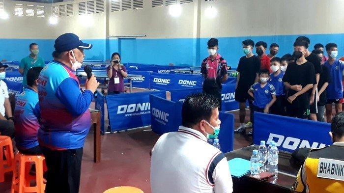 Tenis Meja Gelar Turnamen, KONI Palembang Minta Cabor Lainnya Lakukan Pencarian Bibit Atlet