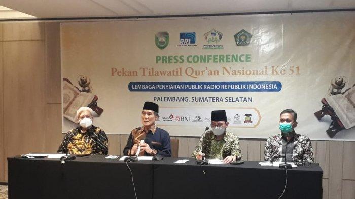 Pekan Tilawatil Quran ke 51 tahun 2021 Resmi Digelar di Palembang, Tahun Lalu Tertunda Oleh Pandemi