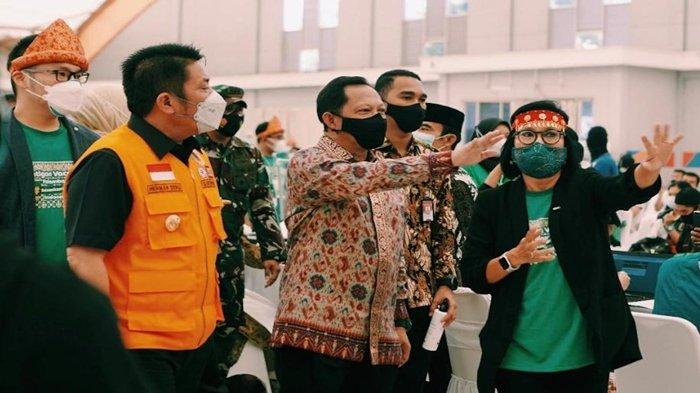 Soal Grab Fatigon Vaccine Center Palembang Ada di Jakabaring Sports City, Begini Kata Mendagri Tito