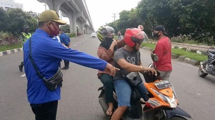 Salut Buat Polantas Menggelar Razia Serentak di Kota Palembang