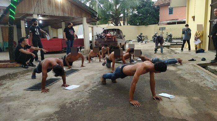 Penertiban Preman di Palembang