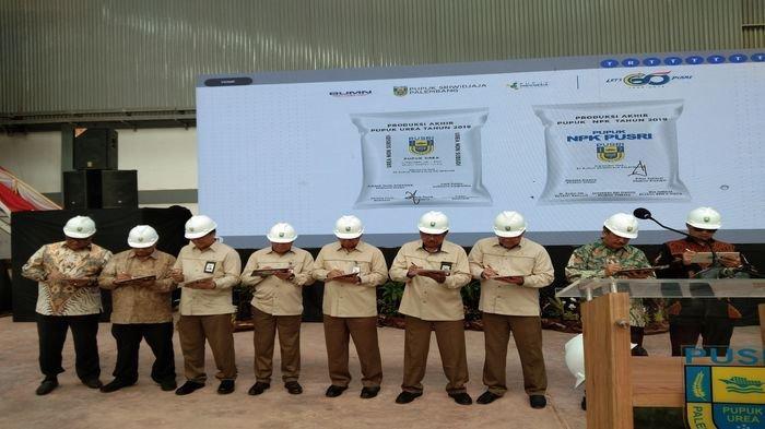 Selama 2019 Pusri Palembang Lampaui Target Produksi