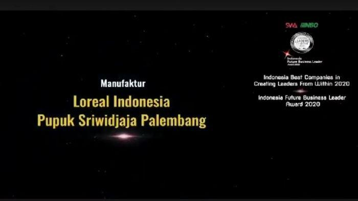 Pusri Raih Penghargaan Indonesia Best Companies in Creating Leaders from Within 2020