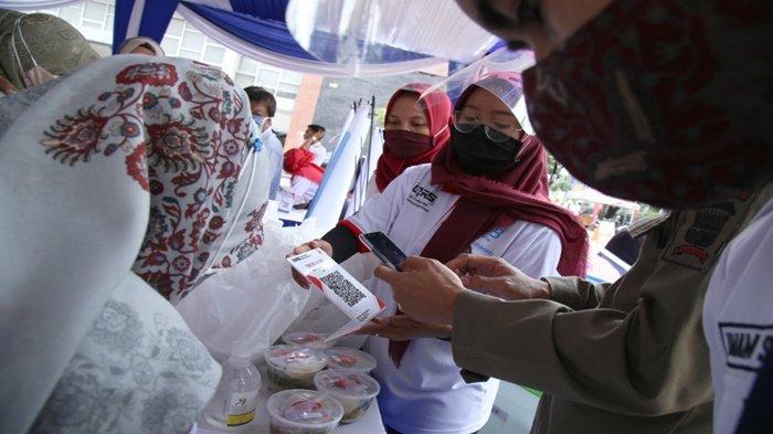 BERITA FOTO: Sejumlah ASN di Palembang Dapat Pengetahuan Tentang QRIS dari Bank Sumsel Babel